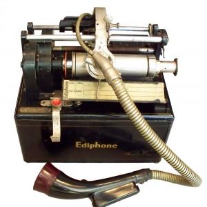 fonografo - oggetto antico scienza tecnica