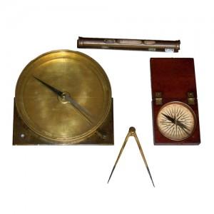 Antichi oggetti e libri di scienzedellaterra
