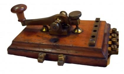 Tasto telegrafico 4/4 XIX° secolo