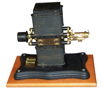 Dinamo tipo Siemens a doppio induttore collegato in serie/parallelo (compound) 1870 – 1880