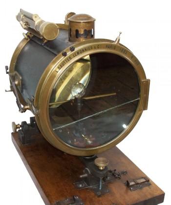 """Telegrafo ottico  """"Sautter & Lemonnier""""  Parigi 1883"""