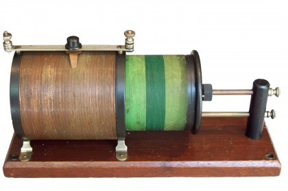Circuito sintonico 'Loose Coupler' ditta Murdock U.S.A. 1914