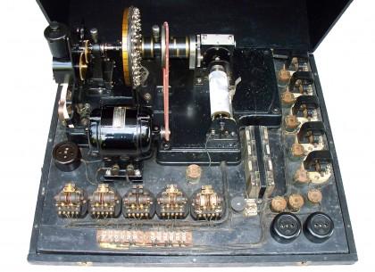 Telescrivente su nastro sistema Baudot e Facsimile elettrochimico – Germania 1923