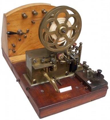 "Macchina telegrafica ""F.lli Digney"" – Francia 4/4 XIX° secolo"