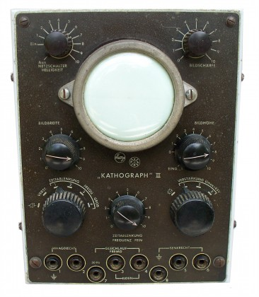 Oscilloscopio  PHILIPS    CATHOGRAPH II.   Anni 1941-1945