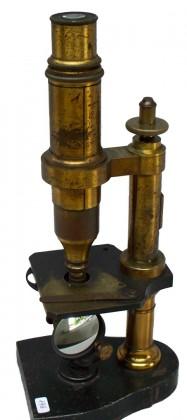 """Microscopio composto """"Nachet & Fils"""", Parigi 1863-1880"""
