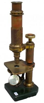 """Microscopio composto """"Koristka"""", Milano 4/4 XIX secolo"""