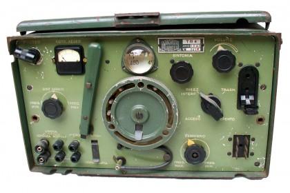 """Rice-Trasmettitore """"Marelli"""" Tipo TR-4 (stazione RF2CA) montato sui carri-comando e carri-radio. Anno 1941"""