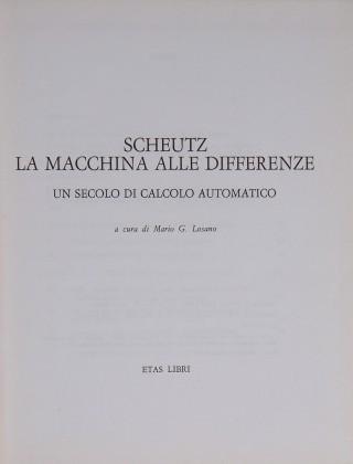 La macchina alle differenze di Georg Scheutz