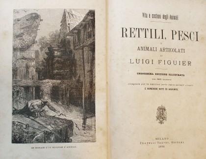 Rettili, Pesci e Animali Articolati di Luigi Figuier