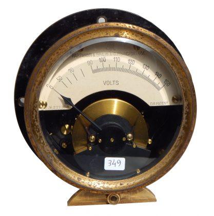 Voltmetro  Hartmann & Braun – Francoforte  1926