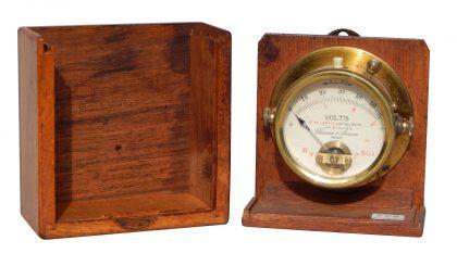 Voltmetro  Chauvin & Arnoux – 1/4  XX° secolo