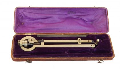 Planimetro Polare o di AMSLER ; seconda metà XIX° secolo