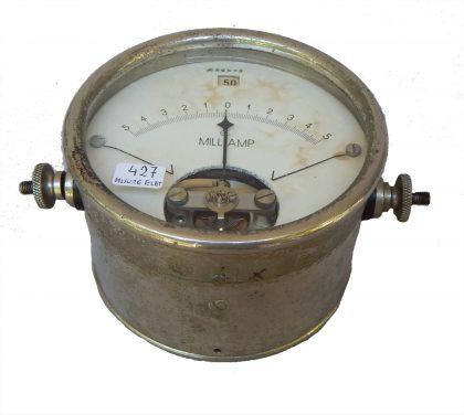 Milliamperometro  R.G.S. – 1/4  XX° secolo