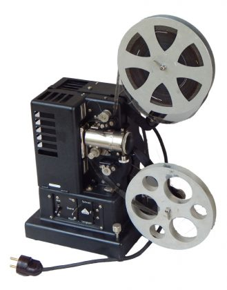 Proiettore 16 mm per cinema muto