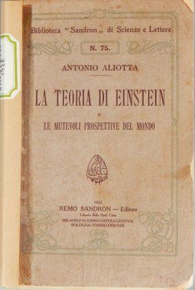 Libro teoria di Einstein