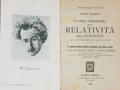 libro relatività