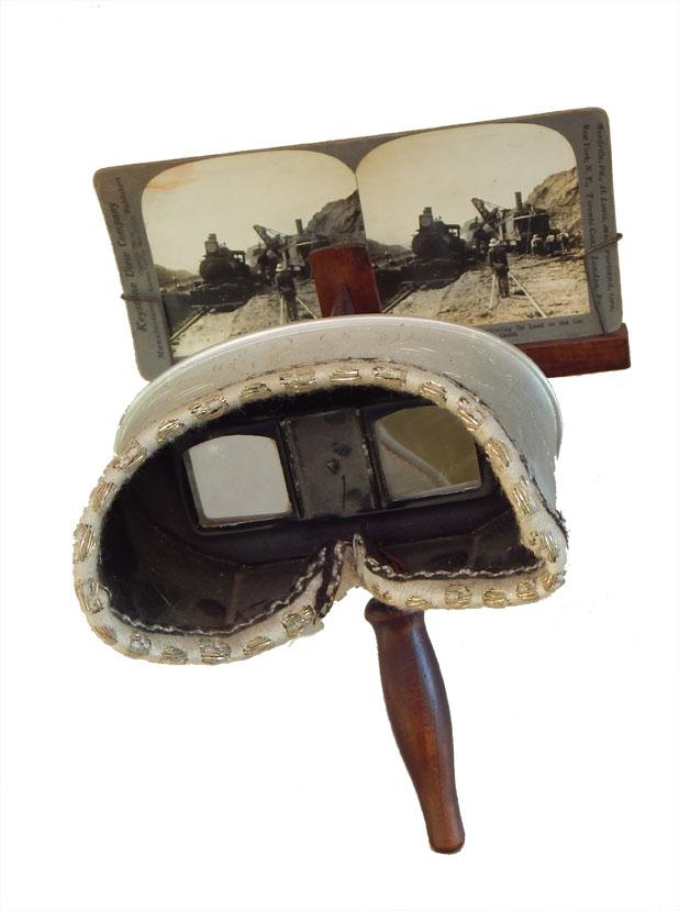Visore per foto stereo - stereoscope